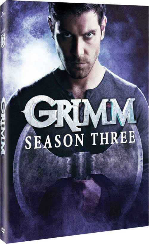 Grimm Season 3 on DVD and Blu-ray Disc – Release Date, Bonus Material, Package Art