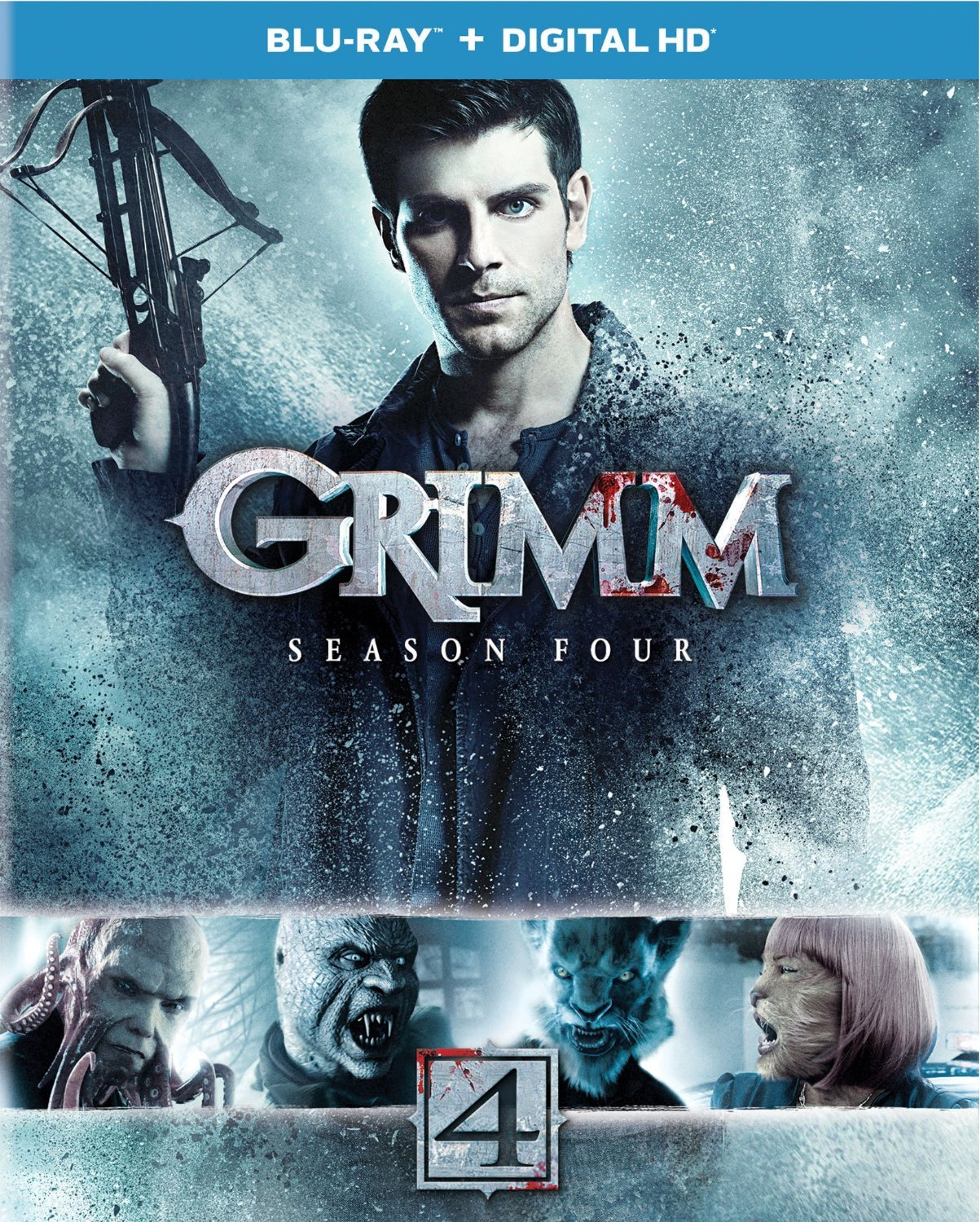 Grimm Season 4 on DVD and Bluray is out TODAY!