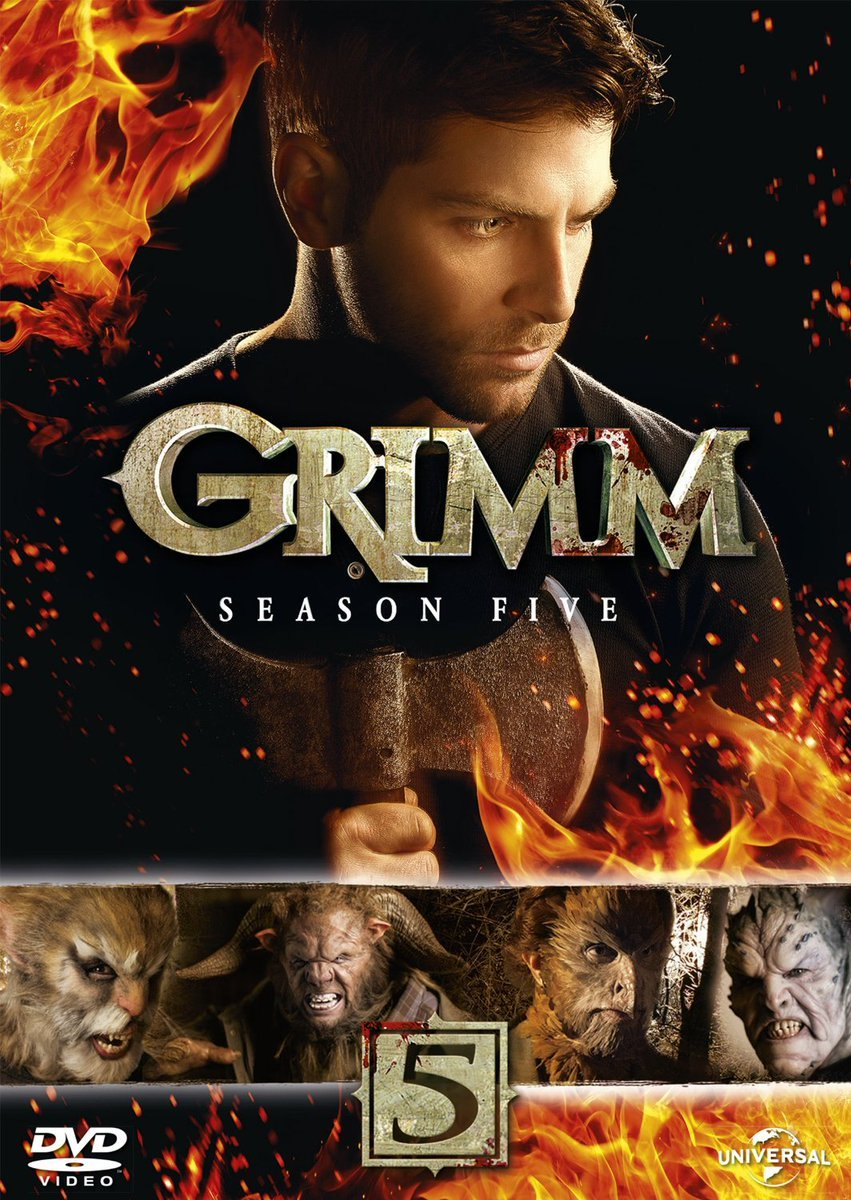 Grimm Season 5 on DVD and Blu-ray Disc – Release Date, Bonus Material, Package Art