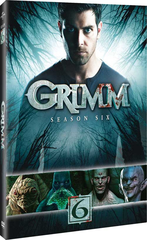 Grimm Season 6 on DVD and Blu-ray Disc – Release Date, Bonus Material, Package Art