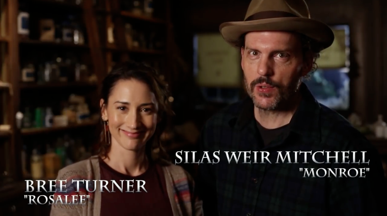 Grimm – Memorable Moments: Bree Turner and Silas Weir Mitchell