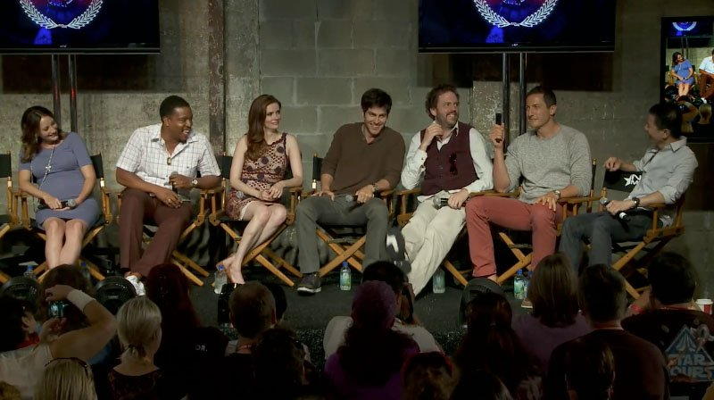 """Grimm"" Conversation with Cast and Crew at Comic-Con 2012 – Nerd HQ"