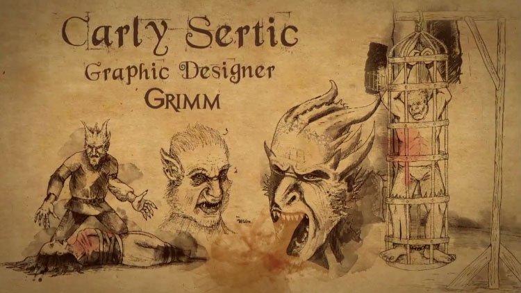 Grimm Season 2: Profile – Carly Sertic – Graphic Designer