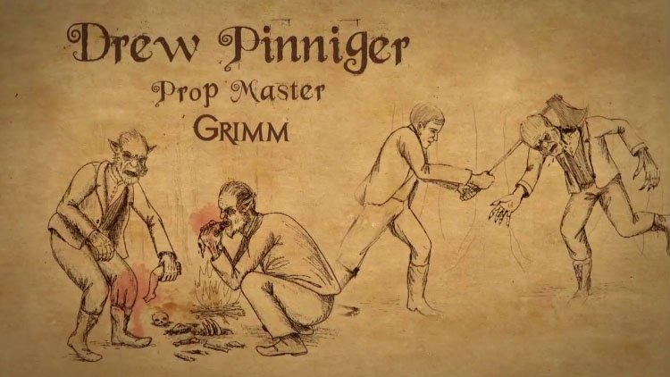 Grimm Season 2: Profile – Drew Pinniger – Prop Master
