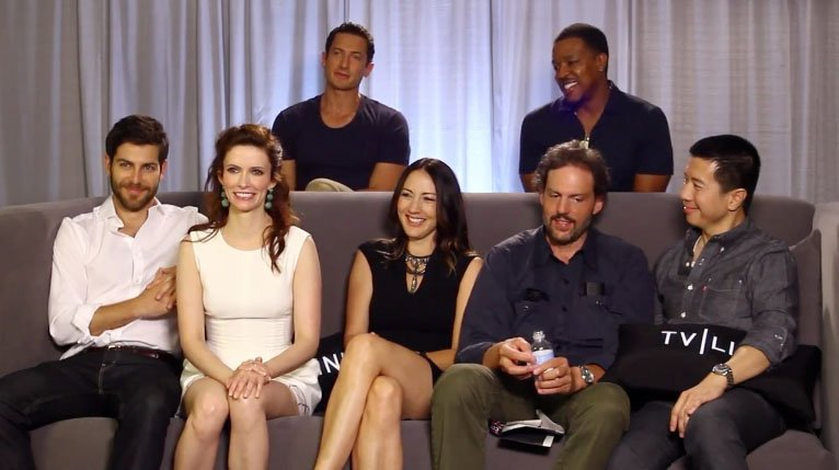 Grimm Cast Interview at Comic-Con 2013 – TVLine