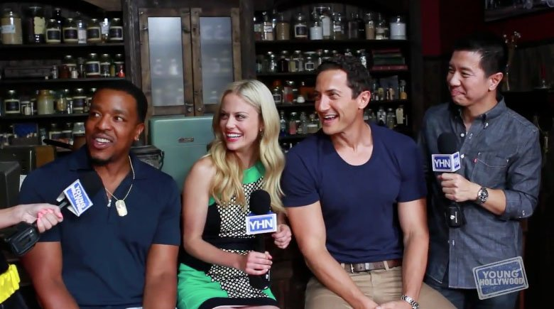 Grimm Cast Interview at Comic-Con 2013 – Young Hollywood