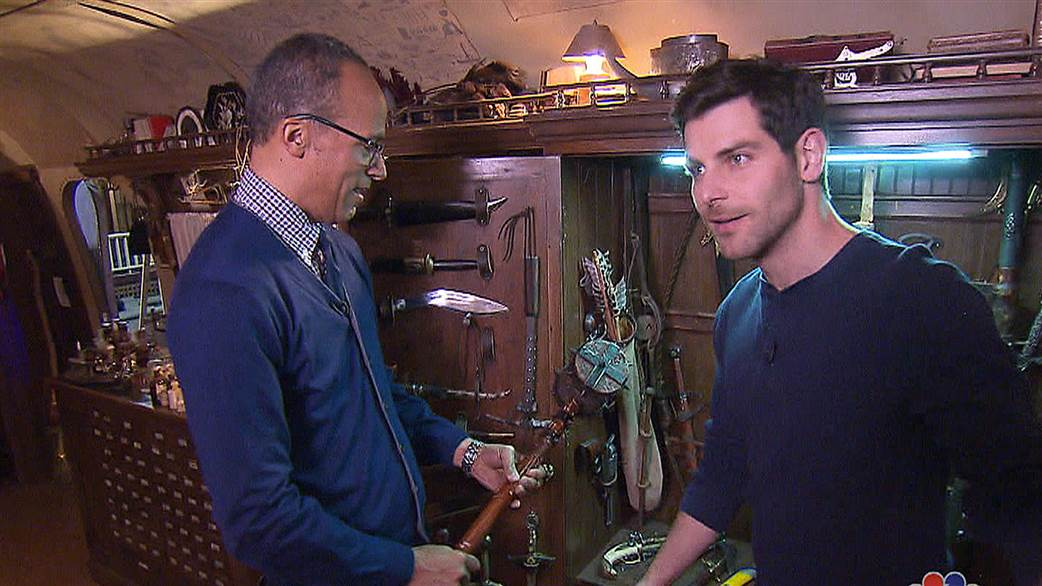 Behind the Scenes of 'Grimm' with Lester Holt – Today Show