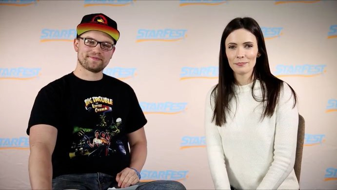 Bitsie Tulloch Interview at StarFest Denver 2017 – Generally Nerdy
