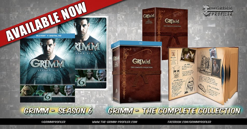 Grimm Season 6 and Complete Collection available now!