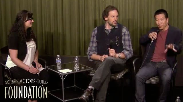 Grimm Cast Q&A Panel with Reggie Lee and Silas Weir Mitchell at SAG Foundation