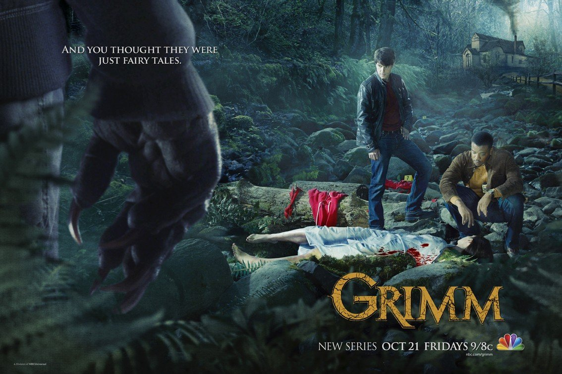 Grimm's Season 1 Promotional Poster