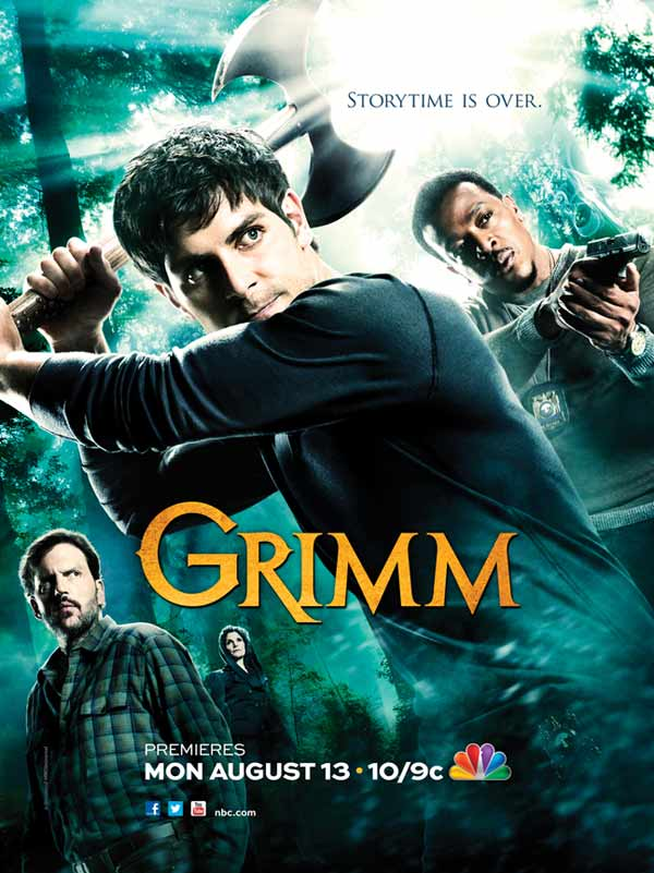 Grimm's Season 2 Promotional Poster