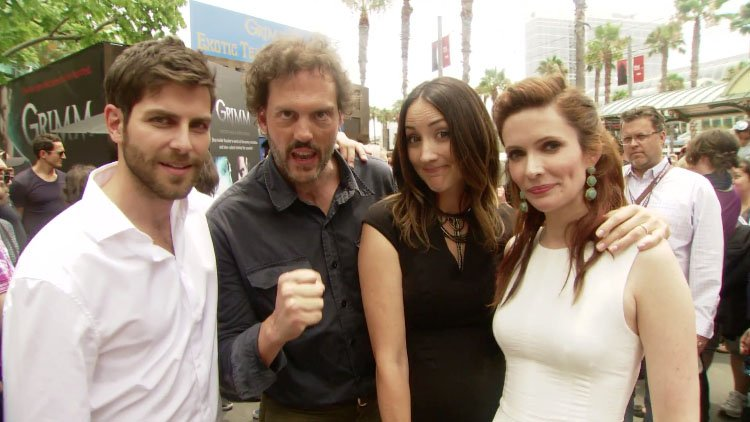 Grimm Cast at Comic-Con 2013