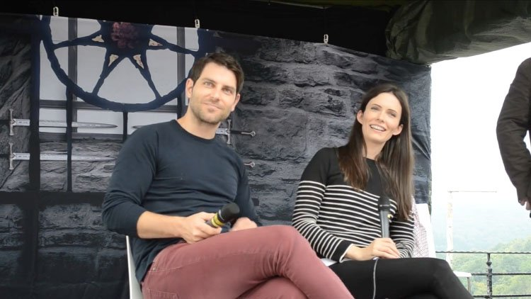 Grimm Panel with David Giuntoli and Bitsie Tulloch – Medieval Fantasy Con 2017