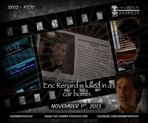 A day like today on Grimm – November 1st