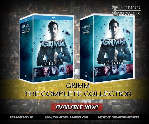Grimm: The Complete Collection – Available Now!