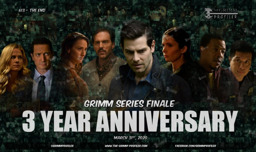 Grimm Series Finale – 3 year anniversary