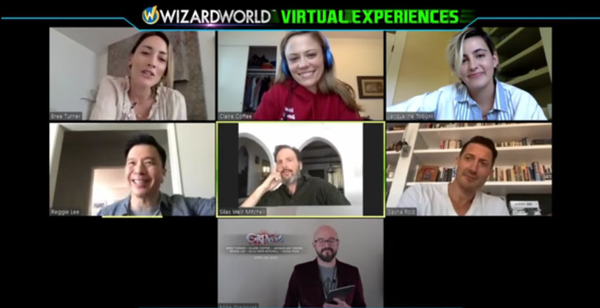 LIVE Q&A with the cast of GRIMM – Wizard World Virtual Experiences 2020